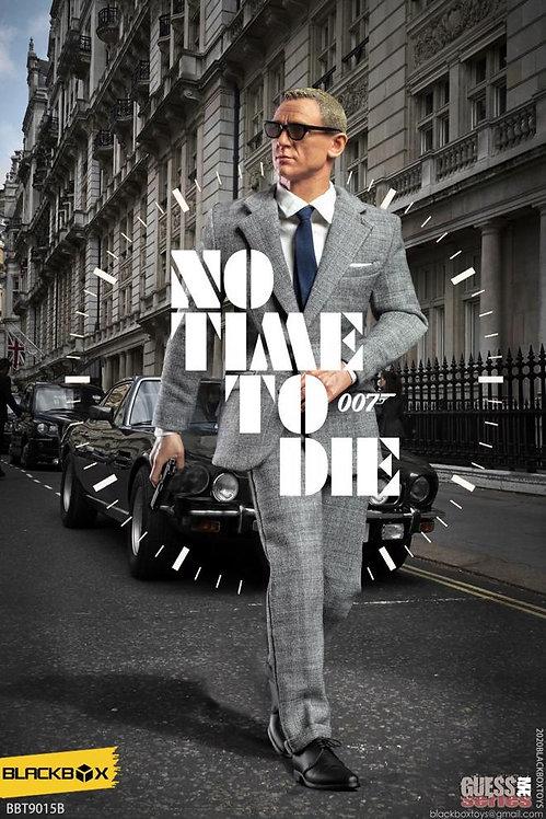 BLACKBOX 007 NO TIME TO DIE JAMES BOND GREY SUIT VERSION