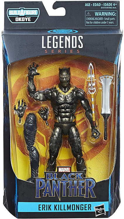 MARVEL LEGENDS BLACK PANTHER SERIES OKOYE ERIK KILLMONGER