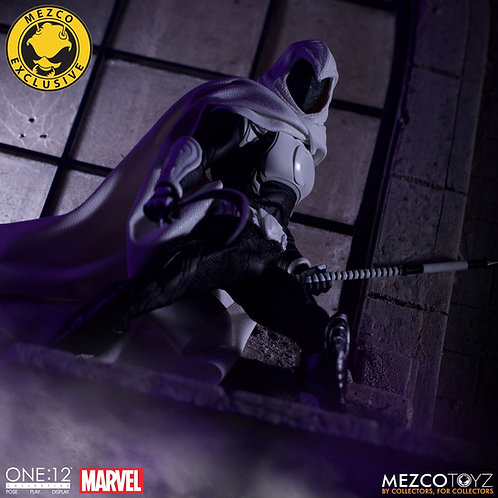 MEZCO TOYZ ONE:12 MARVEL MOON KNIGHT SDCC 2019 EXCLUSIVE