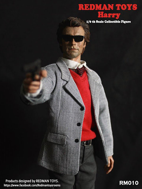REDMAN TOYS INSPECTOR HARRY - DIRTY HARRY