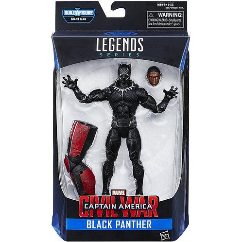MARVEL LEGENDS CIVIL WAR GIANT MAN SERIES BLACK PANTHER