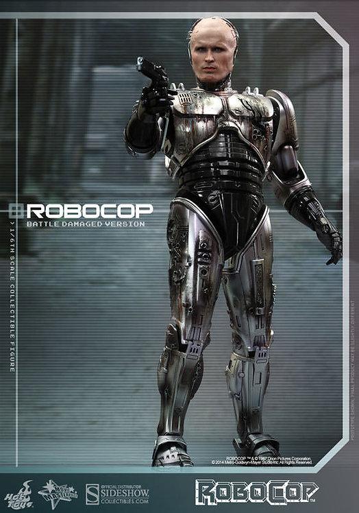 HOT TOYS ROBOCOP MOVIE ROBOCOP BATTLE DAMAGED