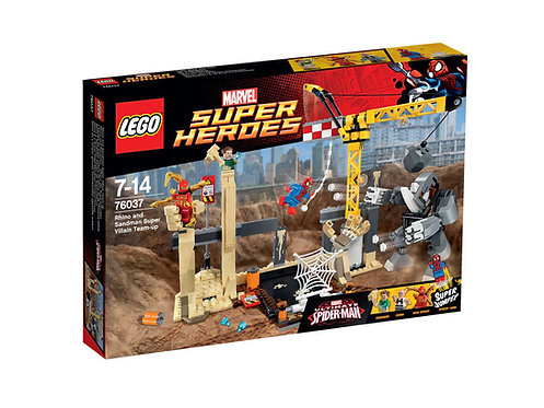 LEGO 76037 MARVEL SUPER HEROES RHINO AND SANDMAN SUPER VILLAIN TEAM UP
