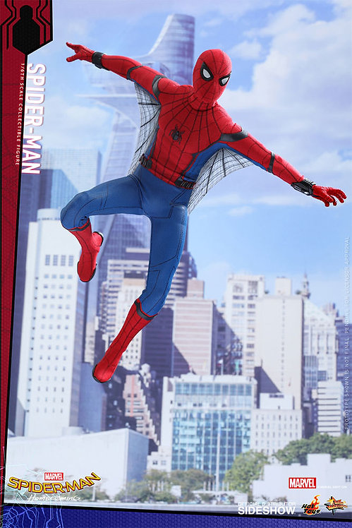 HOT TOYS SPIDER-MAN HOMECOMING SPIDER-MAN
