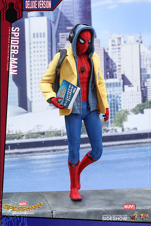 HOT TOYS SPIDER-MAN HOMECOMING SPIDER-MAN DELUXE