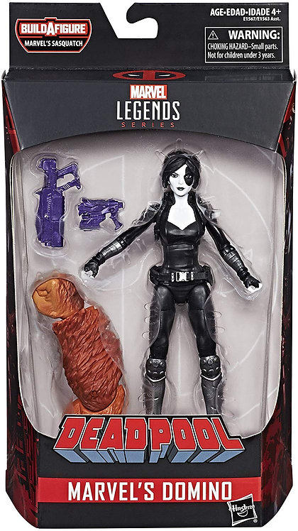 MARVEL LEGENDS DEADPOOL SERIES SASQUATCH DOMINO
