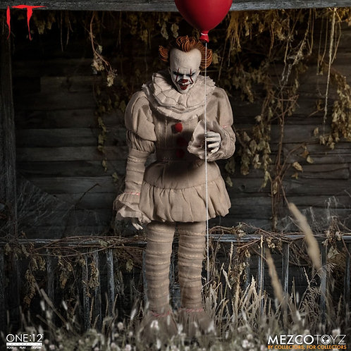 MEZCO TOYZ ONE:12 2017 IT PENNYWISE