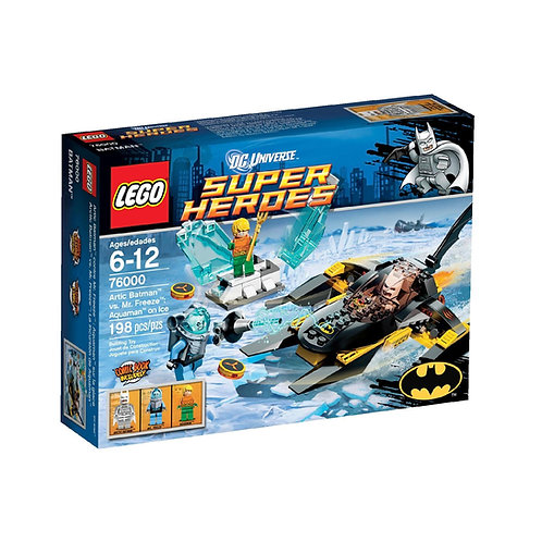 LEGO 76000 DC COMICS SUPER HEROES ARCTIC BATMAN VS. MR FREEZE: AQUAMAN ON ICE