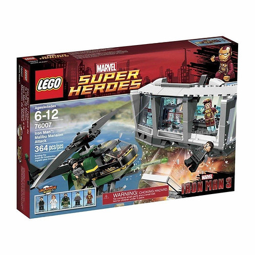LEGO 76007 MARVEL SUPER HEROES IRON MAN: MALIBU MANSION ATTACK