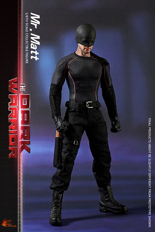 HOT HEART FD007 THE DARK WARRIOR MR. MATT NETFLIX DAREDEVIL VIGILANTE