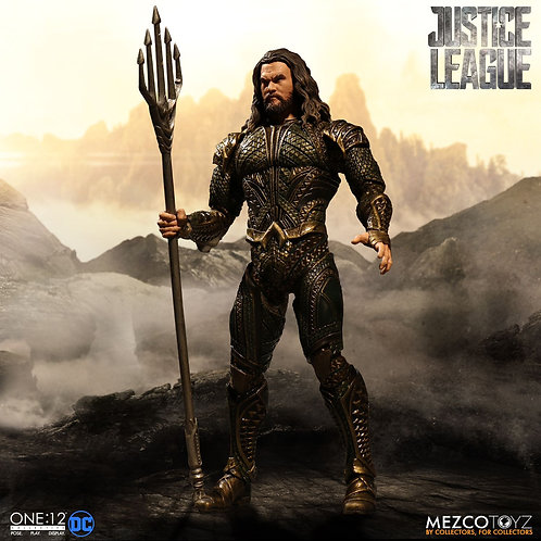 MEZCO TOYZ ONE:12 DC JUSTICE LEAGUE MOVIE AQUAMAN