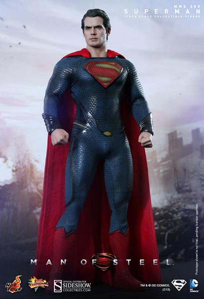 HOT TOYS MAN OF STEEL MOVIE SUPERMAN