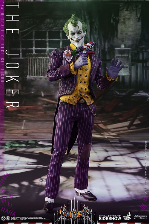 HOT TOYS DC ARKHAM ASYLUM VIDEO GAME JOKER