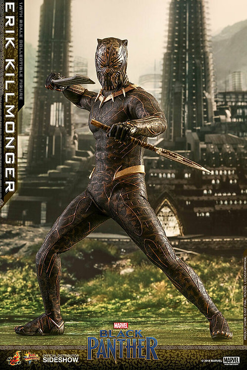 HOT TOYS BLACK PANTHER MOVIE ERIK KILLMONGER