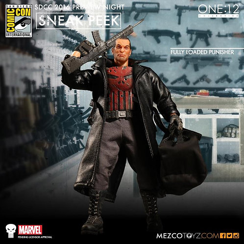MEZCO TOYZ ONE:12 MARVEL THE PUNISHER DELUXE PX EXCLUSIVE