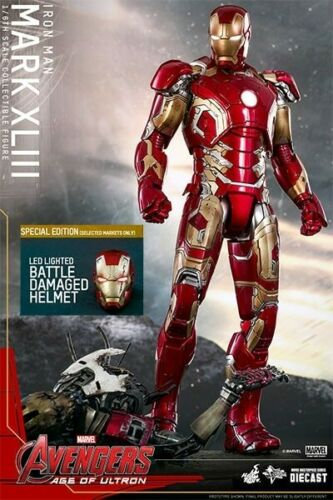 HOT TOYS AVENGERS 2 AGE OF ULTRON IRON MAN MARK 43 DIECAST EXCLUSIVE