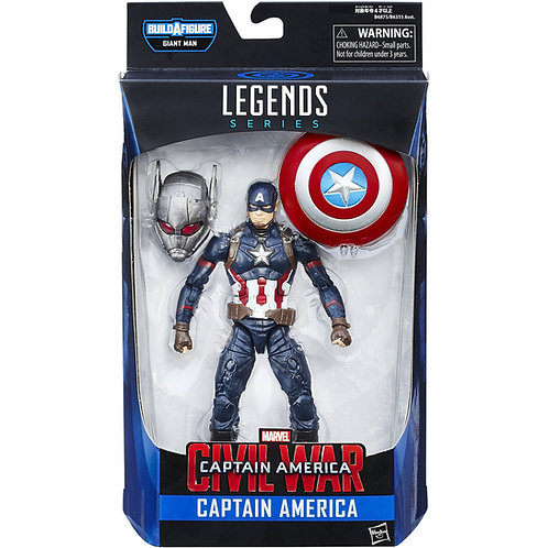 MARVEL LEGENDS CIVIL WAR GIANT MAN SERIES CAPTAIN AMERICA