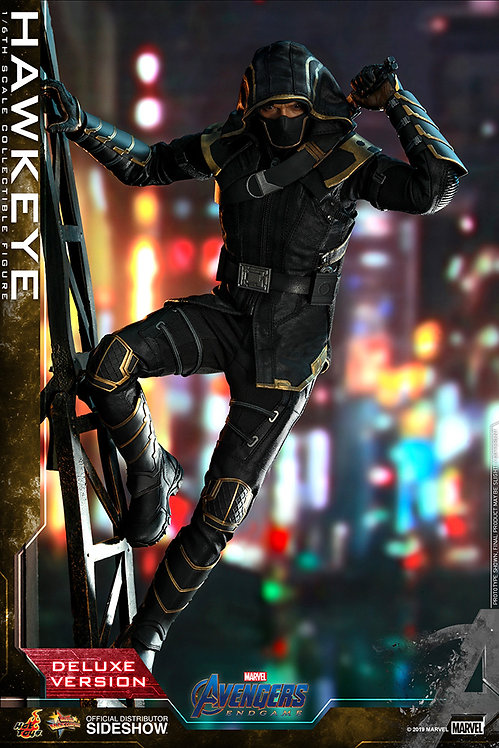 HOT TOYS AVENGERS END GAME HAWKEYE DELUXE VERSION