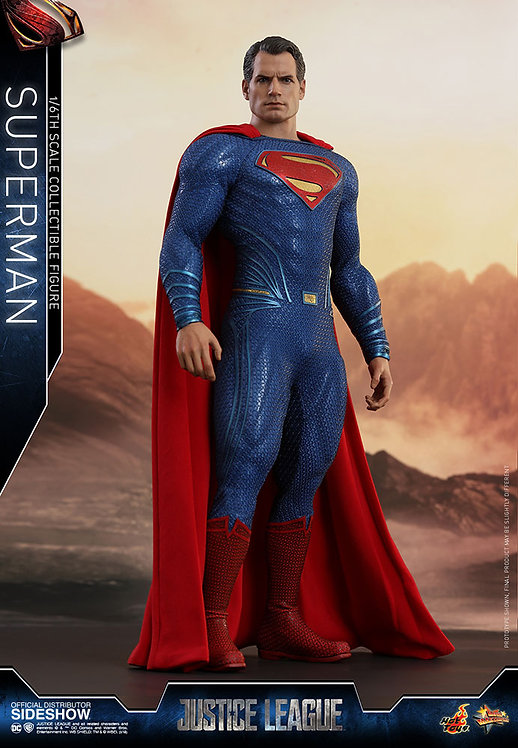 HOT TOYS JUSTICE LEAGUE SUPERMAN