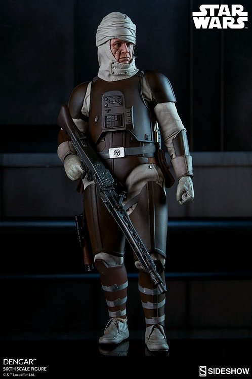 SIDESHOW COLLECTIBLES STAR WARS DENGAR SIDESHOW EXCLUSIVE