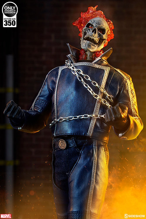 SIDESHOW COLLECTIBLES MARVEL'S GHOST RIDER - CLASSIC VARIANT
