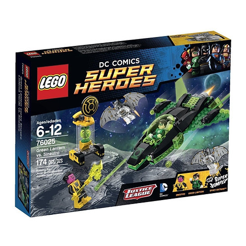 LEGO 76025 DC COMICS SUPER HEROES GREEN LANTERN VS. SINESTRO