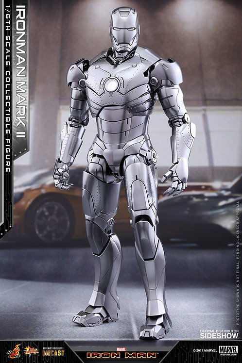 HOT TOYS IRON MAN MARK II DIECAST SIDESHOW EXCLUSIVE