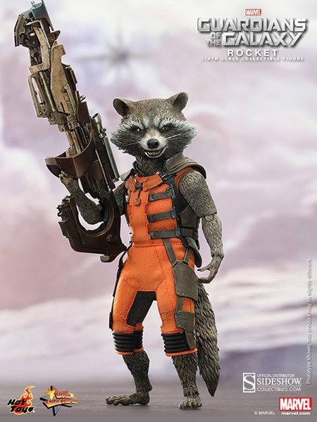 HOT TOYS GUARDIANS OF THE GALAXY ROCKET