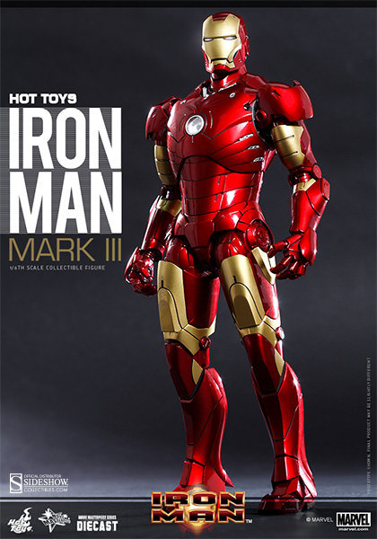 HOT TOYS IRON MAN MARK 3 DIECAST EXCLUSIVE