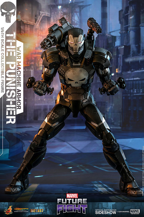 HOT TOYS MARVEL FUTURE FIGHT THE PUNISHER WAR MACHINE ARMOR