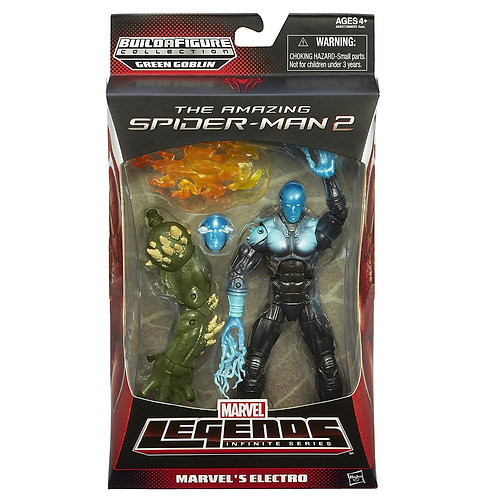 MARVEL LEGENDS ULTIMATE GREEN GOBLIN SERIES AMAZING SPIDER-MAN 2 ELECTRO