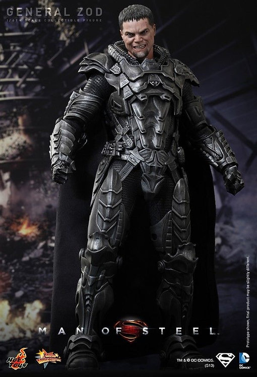 HOT TOYS DC COMICS MAN OF STEEL MOVIE GENERAL ZOD