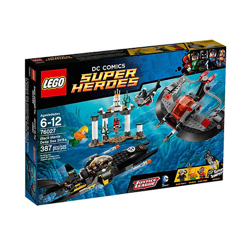 LEGO 76027 DC COMICS SUPER HEROES BLACK MANTA DEEP SEA STRIKE