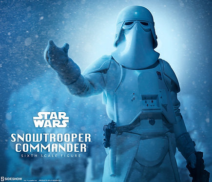 SIDESHOW COLLECTIBLES STAR WARS SNOWTROOPER COMMANDER