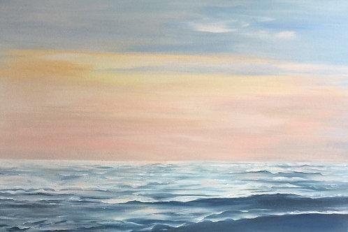 Ocean Sunrise (Abstract Seascape)