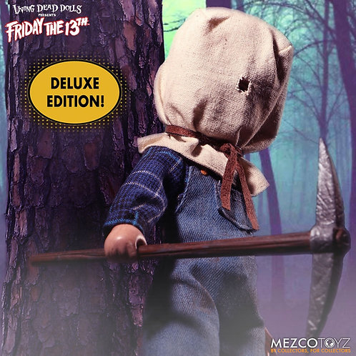 MEZCO TOYZ LIVING DEAD DOLLS FRIDAY THE 13TH PART II JASON VOORHEES
