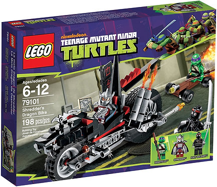 LEGO 79101 TEENAGE MUTANT NINJA TURTLES SHREDDER'S DRAGON BIKE