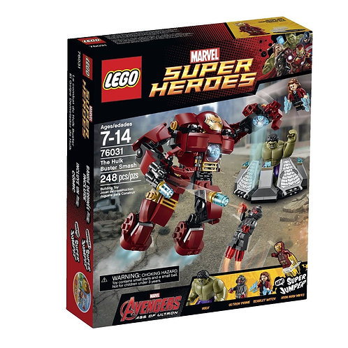 LEGO 76031 MARVEL SUPER HEROES THE HULKBUSTER SMASH