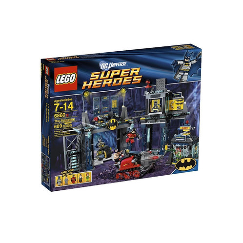 LEGO 6860 DC UNIVERSE SUPER HEROES THE BATCAVE