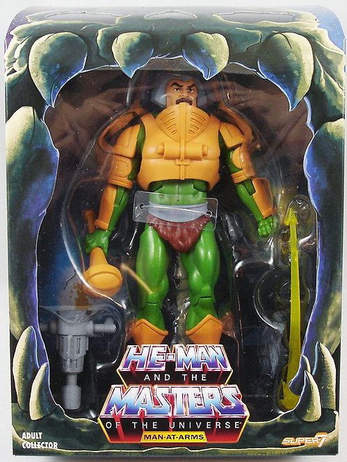 SUPER 7 MASTERS OF THE UNIVERSE FILMATION MAN-AT-ARMS