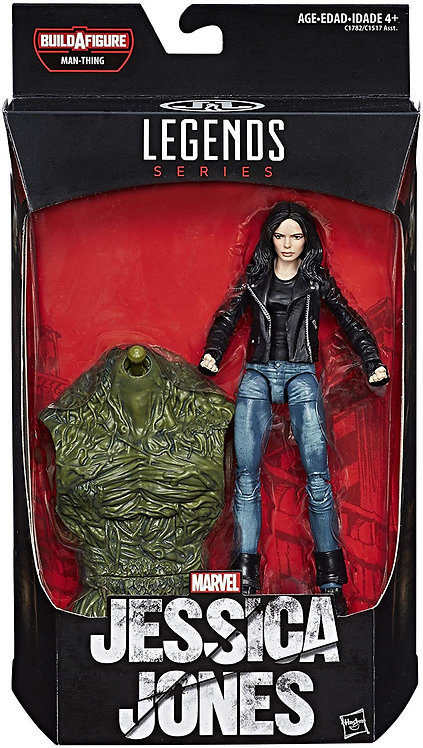 MARVEL LEGENDS KNIGHTS SERIES MAN-THING NETFLIX JESSICA JONES