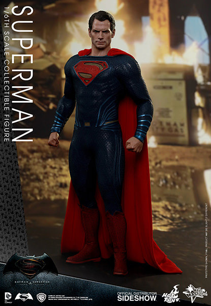 HOT TOYS BVS DAWN OF JUSTICE SUPERMAN WITH KRYPTONITE EXCLUSIVE
