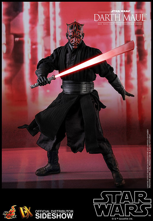 HOT TOYS DX16 STAR WARS DARTH MAUL EXCLUSIVE