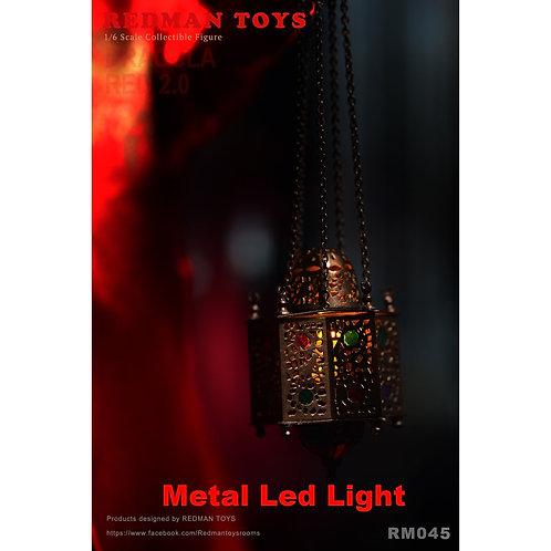 REDMAN TOYS METAL LED LIGHT FOR DRACULA RED - BRAM STOKERS DRACULA