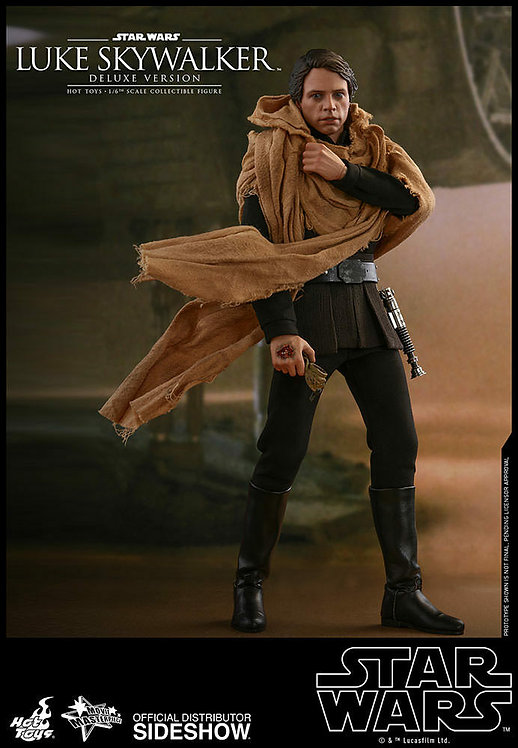 HOT TOYS STAR WARS RETURN OF THE JEDI LUKE SKYWALKER DELUXE VERSION