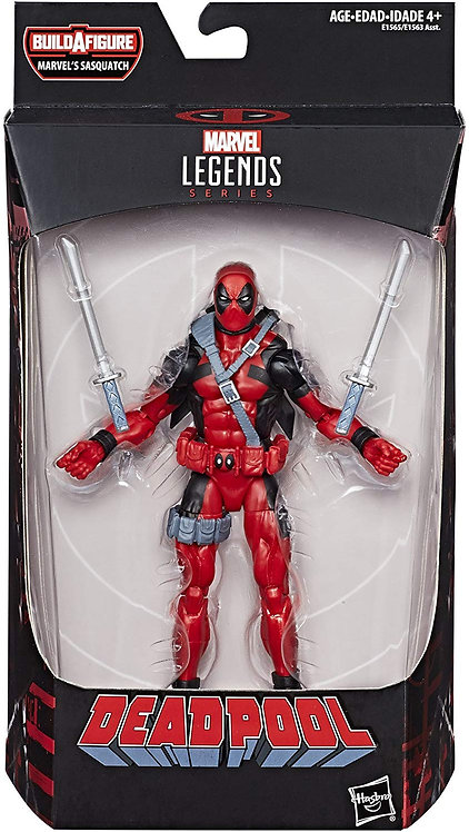 MARVEL LEGENDS DEADPOOL SERIES SASQUATCH DEADPOOL UNCANNY X-FORCE