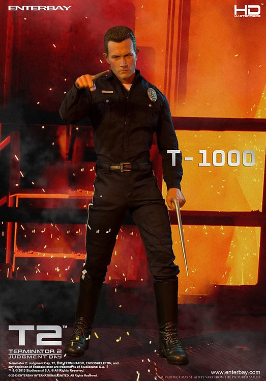 ENTERBAY TERMINATOR 2 T-1000 1/4 SCALE ACTION FIGURE