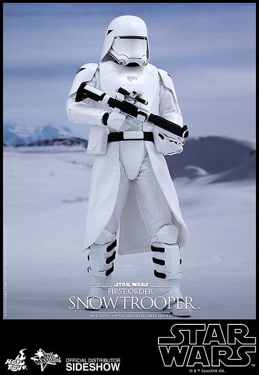 HOT TOYS STAR WARS THE FORCE AWAKENS FIRST ORDER SNOWTROOPER