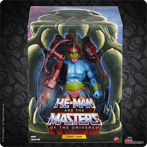 MASTERS OF THE UNIVERSE FILMATION TRAP JAW