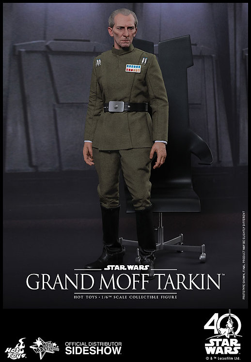 HOT TOYS STAR WARS A NEW HOPE GRAND MOFF TARKIN